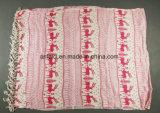 Stola stampata acrilica di disegno personalizzata colori multipli della sciarpa di 100% per le signore (ABF22004011)