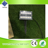 lámpara subterráneo del césped de la potencia LED de 6W LED Hgih