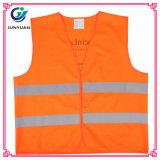 Het nieuwe Vest van de Waarschuwing van het Vest van het Zicht van de Stof van de Manier Veiligheid Gebreide Hoge