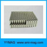 Imán Diametrally del neodimio del anillo N35 magnetizado para la venta