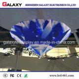 LEIDENE van de Reclame van de melkweg P2.98/P3.91/P4.81/P5.95 Reclame van /LED Sign/LED van de Volledige de Kleur Gebogen Vertoning van Screen/LED