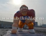 거대한 팽창식 축구 선수 만화 모형 K2097