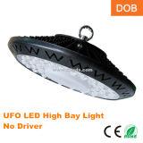 Alu. Indicatore luminoso della baia del UFO LED dell'alloggiamento 110lm/W 100W alto