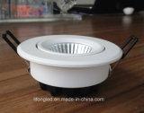 Nueva MAZORCA ajustable ligera LED Downlights de China LED del diseño abajo
