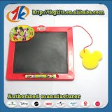 Educação, criança, brinquedo, desenho, quadro, quadro-negro, giz