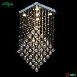 Il cristallo di alta qualità cade l'illuminazione per l'hotel Corridoio