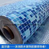 Fodera impermeabile del raggruppamento del vinile di nuoto del PVC