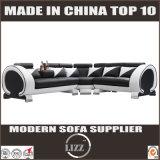 Australia moderno de cuero genuino Sofá para sala de estar con LED