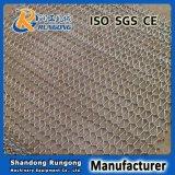 Конвейерная обработки топления, гофрированный пояс сетки штанги