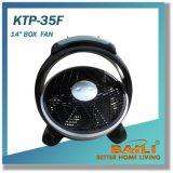 """12 """" Energie - besparing, de Draagbare, Stille Ventilator van de Doos"""