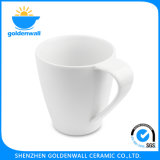 tazza bianca di Latte della porcellana 375ml per il ristorante