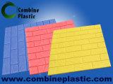 ladrillo/el panel de la pared de la fuerza de elástico 3D