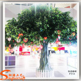 Árbol artificial del Ficus de Bayan de la planta de la decoración del jardín de la alta calidad
