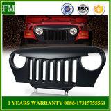le gril d'ABS d'avant du véhicule 4X4 a recouvert pour le Wrangler Tj de jeep