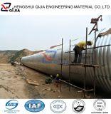 China-Großverkauf galvanisierte zusammengebautes gewölbtes Metallrohr für Straßen-Abzugskanäle von der Fabrik 10 Jahre