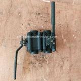 L'ANSI 1500lb ha forgiato la valvola a sfera dell'estremità di filetto del acciaio al carbonio A105