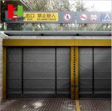 Deur van de Garage van de Hoge snelheid van de Villa van het roestvrij staal de Buiten (Herz-FC0254)