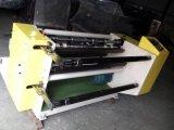 Einfacher Typ, der Rückspulenmaschine für nicht gesponnenes Gewebe Rolls (DC-SFQJ, aufschlitzt)