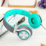 Ajustable, ligero y Portable sobre los auriculares estéreos del oído para la PC del MP3 MP4 marca en la tableta móviles