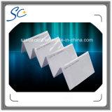 Cartão esperto do controle de acesso do cartão do espaço em branco RFID da identificação do PVC 125kHz do baixo custo
