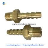 Dos encaixes ocos de cobre da inserção da elevada precisão peças sobresselentes eletrônicas
