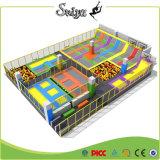 판매에 최신 미국 사용된 농구 링 Trampoline 공원 요르단 농구화