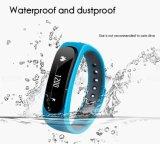 携帯電話の健康のブレスレットのためのBluetoothの腕時計のSmartwatchの人間の特徴をもつ摩耗の防水スマートな腕時計