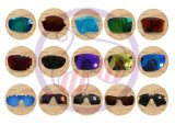 Das Fahren der Sonnenbrillen polarisierte Objektive mit dem beendeten Ausschnitt