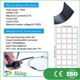 panneau solaire semi flexible de 120W Sunpower