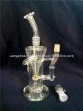 Cachimbos de água de vidro das tubulações de água da tubulação de fumo da tubulação de vidro por atacado