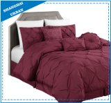 jogo do fundamento da tampa do Duvet de 7PCS Pintuck