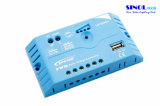 10A MPPT Solar Charge Controllers con salida USB