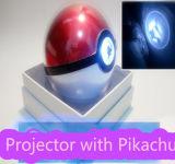 Кристаллический крен силы Pokemongo варианта с заряжателем черни протектора Pikachu
