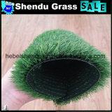 grama artificial da paisagem 140stitch de 20mm com cor verde