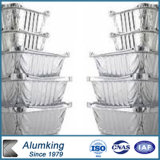 台所使用のアルミニウムFollの容器