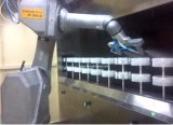 Terminar a linha de pintura UV do pulverizador do robô automático para telefones móveis