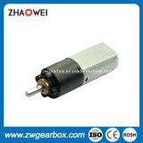 Caixa de engrenagem de redução de motor elétrico pequeno de 9V