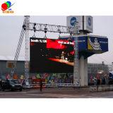 옥외 운동 둘레 경기장 발광 다이오드 표시 P8