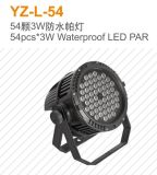 indicatore luminoso di PARITÀ di 180W 54PCS RGBW LED per la fase