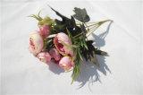 Flores artificiales de la alta calidad al por mayor para la decoración de la boda