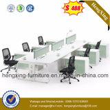 Estação de trabalho chinesa da divisória da mesa de escritório da melamina do fabricante da mobília (Hx-PT14004)