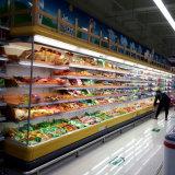 Vetrina refrigerata aperta personalizzata fabbrica dell'ortaggio da frutto del supermercato