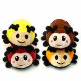Juguete relleno animal de encargo del juguete de la felpa del Ladybug