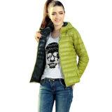 Jaqueta de inverno acolchoada com algodão com capuz