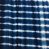 Tela del tinte del lazo del rayón Hztd105-2 para Womenswear