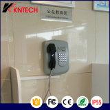 Телефон автоматической шкалы Kntech телефона банка телефона обслуживания Knzd-04 непредвиденный