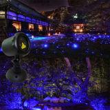 Рождество Ligths напольное для украшений Новый Год, одиночный голубой статический репроектор светов сада