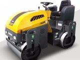 Approvisionnement d'usine Conduire-sur le double rouleau de route vibrant de tassement du tambour Sgw1550 1.5t