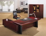 MDFのベニヤの事務机の高い光沢のあるオフィス用家具(HX-RD3126)