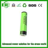 Bateria do íon do ciclo Icr18650 2200mAh 18650 Li da longa vida para a luz principal